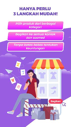 Mokkaya - Reseller online, penghasilan dari rumah screenshots 1