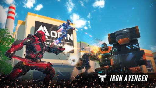 Iron Avenger - Infinite Warfare RPG  screenshots 1