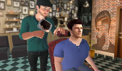 Barber Shop Hair Salon Cut Hair Cutting Games 3D 2.4 screenshots 10