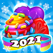 Candy Bomb Fever - 2021 Match 3 Puzzle Free Game