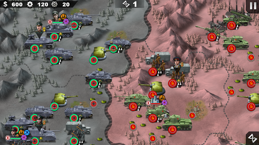 World Conqueror 4 - WW2 Strategy game 1.2.50 screenshots 1