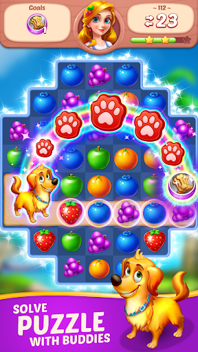 Fruit Diary - Match 3 Games Without Wifi screenshots 4