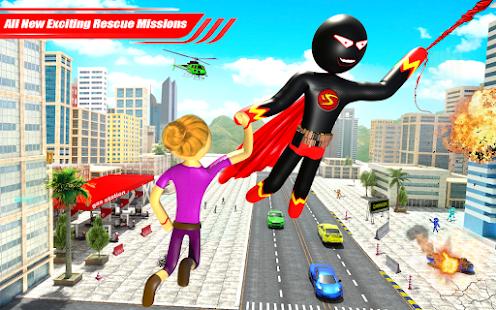 Real Police Stickman Rope Hero 18 Screenshots 10