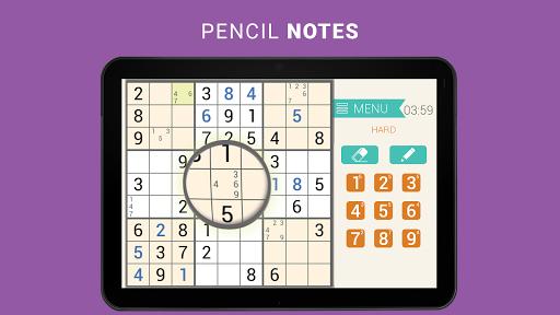 Sudoku classic   Free puzzle game   Easy sudoku 3.8.3 screenshots 8