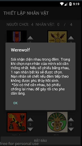 Ma Su00f3i - BoardGame Werewolves 2.3.1 screenshots 4