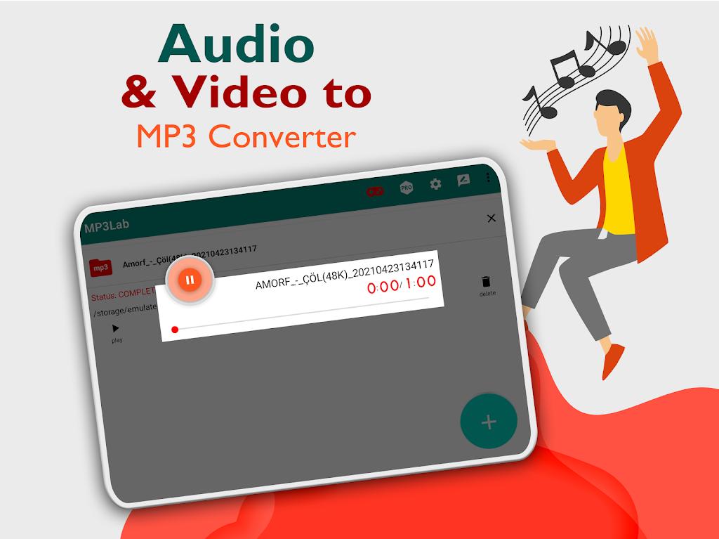 Mp3Lab - Video to MP3 Converter & Ringtone Maker  poster 12