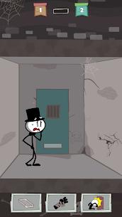 Prison Escape: Stickman Adventure Mod Apk 1.23.5 (Unlimited Money) 2