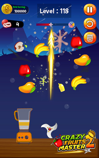 Crazy Juice Fruit Master:Fruit Slasher Ninja Games  screenshots 11