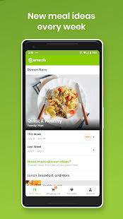 eMeals - Meal Planning Recipes & Grocery List