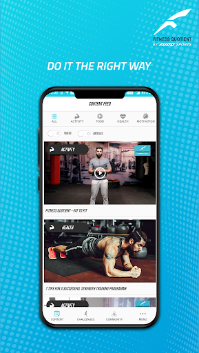 Fitness Quotient by Furo Sports screenshot 1