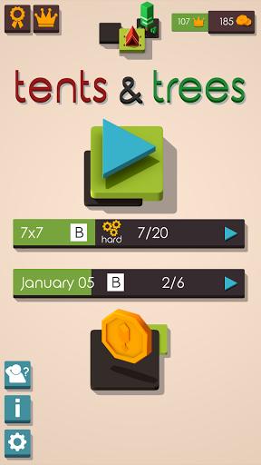Tents and Trees Puzzles 1.6.26 screenshots 4