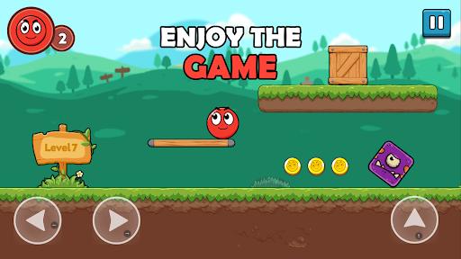 Bounce Ball 5 : Roller Red Ball  screenshots 1