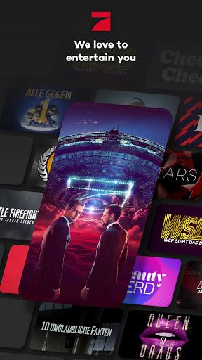ProSieben – Kostenloses Live TV und Mediathek  screenshots 1