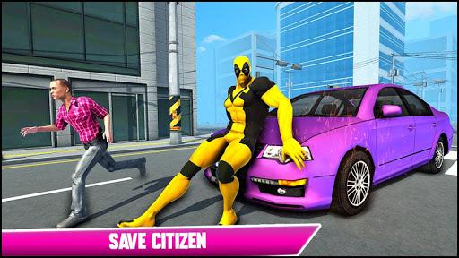 Real Ninja Superhero Las Vegas gangster Fight 1.0.1 screenshots 12