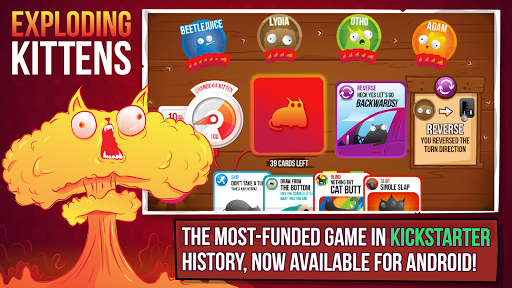 Exploding Kittens® - Official  screen 0