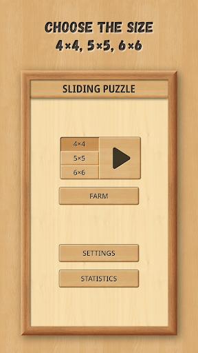 Sliding Puzzle: Wooden Classics 1.1.9 screenshots 1