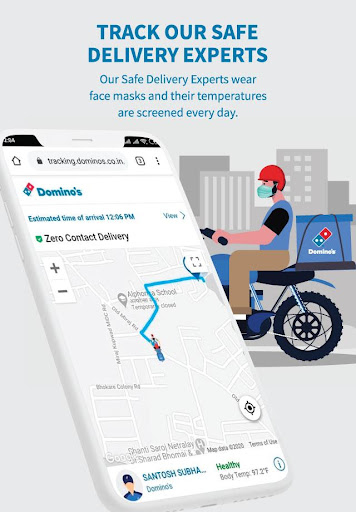 Domino's Pizza - Online Food Delivery App 9.2.45 Screenshots 7