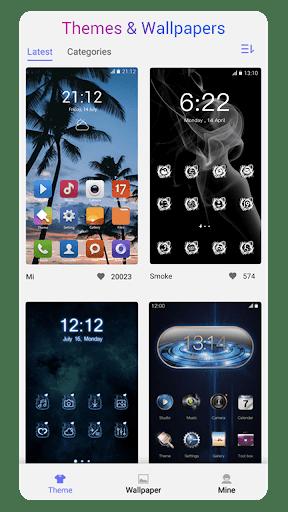 OS14 Launcher, Control Center, App Library i OS14  Screenshots 6
