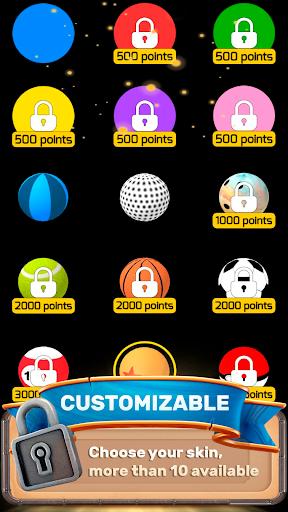 the stack tower : ball fall game 3d stick blocks ☄ screenshot 3