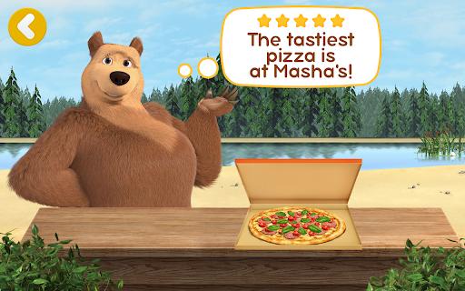 Masha and the Bear Pizzeria Game! Pizza Maker Game  screenshots 24