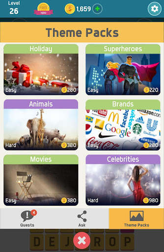 Pictoword: Fun Word Games & Offline Brain Game 1.10.14 Screenshots 18