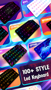 Neon LED Keyboard – RGB Lighting Colors v1.5.4 MOD APK 1
