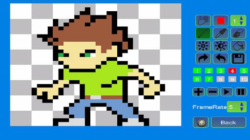Pixel Animator:GIF Maker For PC Windows (7, 8, 10, 10X) & Mac Computer Image Number- 7