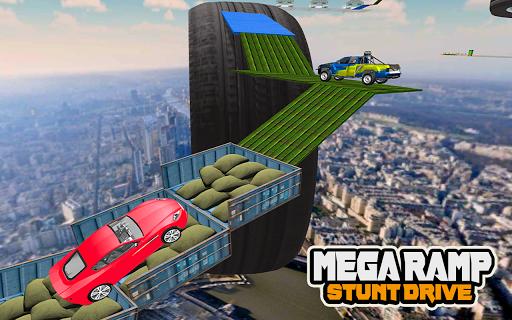 Mega Car Ramp Impossible Stunt Game  Screenshots 6