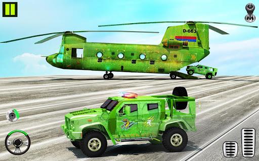 US Army Transporter Plane - Car Transporter Games screenshots 1