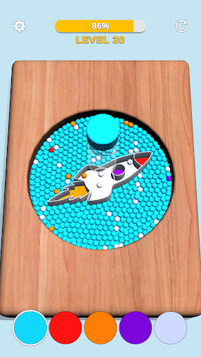 Sorting Beads: Stencil Fill 13 screenshots 1