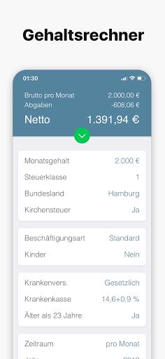 Bruno - Brutto Netto Rechner 2021  screenshots 1