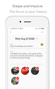 My Journal - Diary, Mood control and Fingerprint 1.6.28 screenshots 1