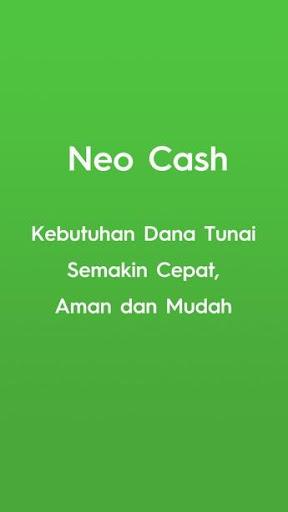 Neo Cash – pinjaman online bunga rendah terbaik