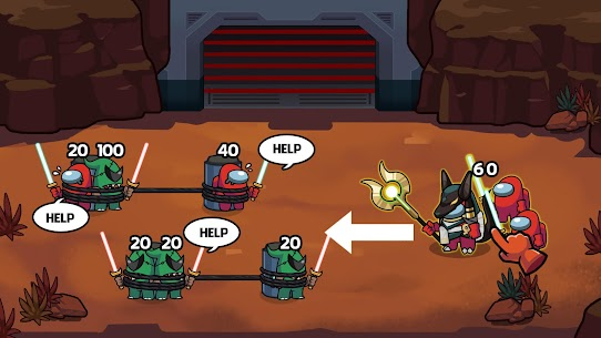 Save The Imposter: Galaxy Rescue Mod Apk 0.3.3 (A Lot of Money) 5