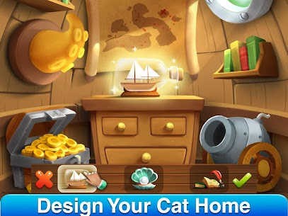 Cat Home Design: Decorate Cute Magic Kitty Mansion 1.20 Apk + Mod 1