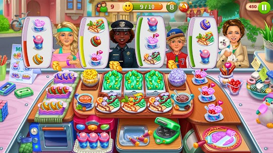 Hell's Cooking: Crazy Burger, Kitchen Fever Tycoon Mod Apk 1.80 (A Lot of Gold Coins) 3