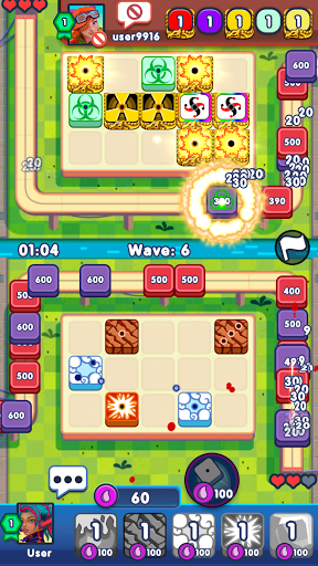 Dice Battle - Tower Defense screenshots 1