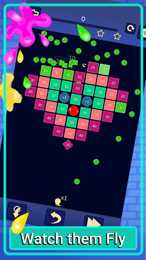 Brick Breaker - Bricks Ballz Shooter apkpoly screenshots 2