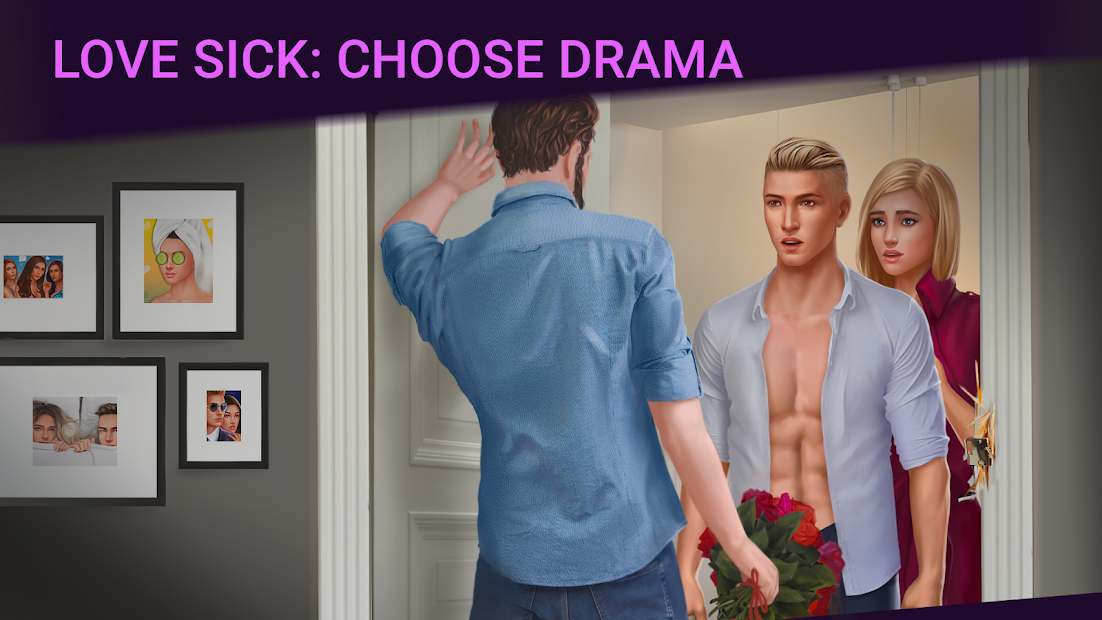 Love Sick: Love story game. New chapters&episodes Android App Screenshot