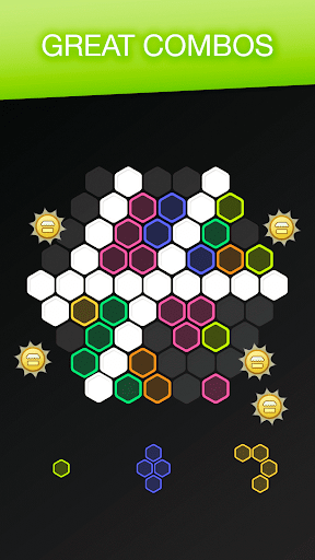 Hex FRVR - Drag the Block in the Hexagonal Puzzle screenshots 5