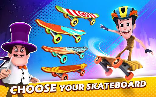 Smaashhing Simmba - Skateboard Rush android2mod screenshots 15