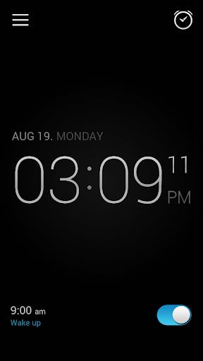 Alarm Clock screen 2