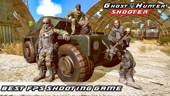 Ghost Hunter Shooter - Shooting Games 1.0 Screenshots 1