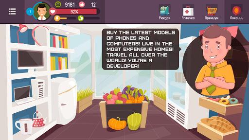 Hacker or Dev Tycoon? Real Life Simulator. Tap Sim 2.0.10 screenshots 2