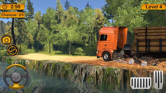 Off-road Cargo Truck Simulator 1.0 Screenshots 8