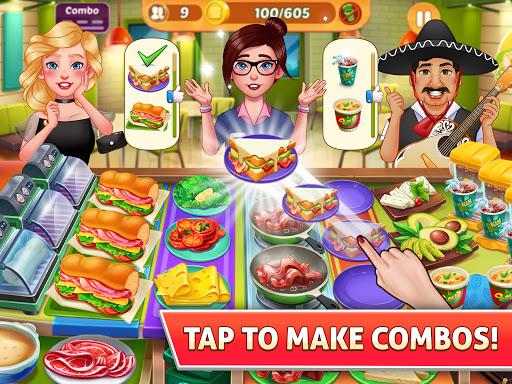Kitchen Craze: Free Cooking Games & kitchen Game  Screenshots 12