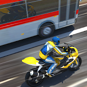 Bike VS Bus Free Racing Games – New Bike Race Game