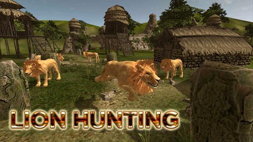 Animal Hunting : Lion Sniper Hunter  apktcs 1