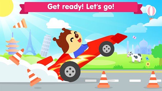 Free Car game for toddlers: kids cars racing games 4