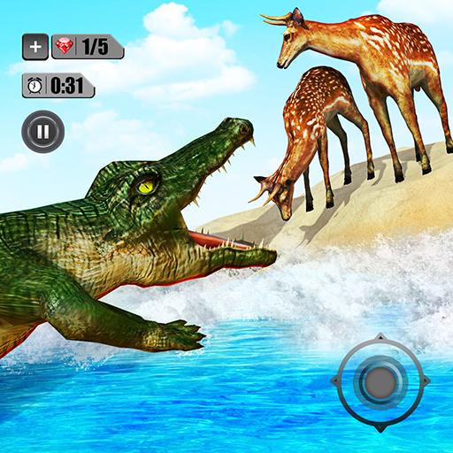Angry Crocodile Simulator - Real Animal Attack